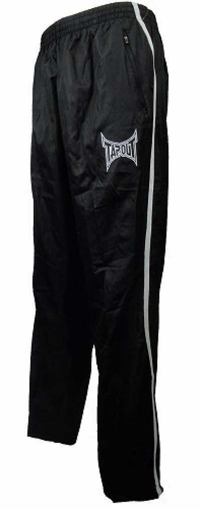 Photo3: TAPOUT PRO Nylon Pants Black