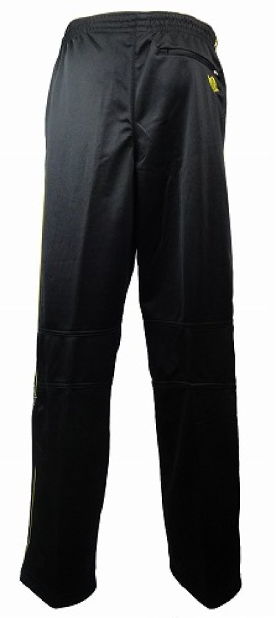 Photo2: TAPOUT PRO French Terry Warm Up Pant Black/Yellow
