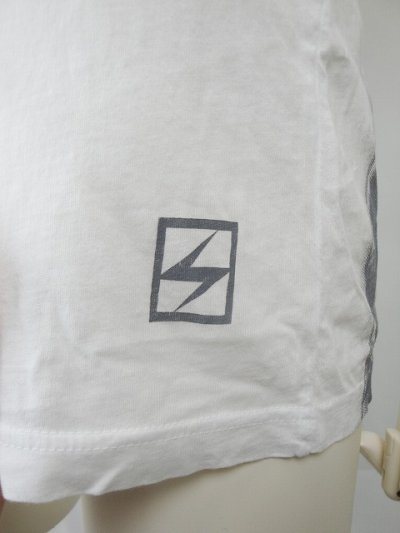Photo4: Silver Star Tshirt Positive Tention White