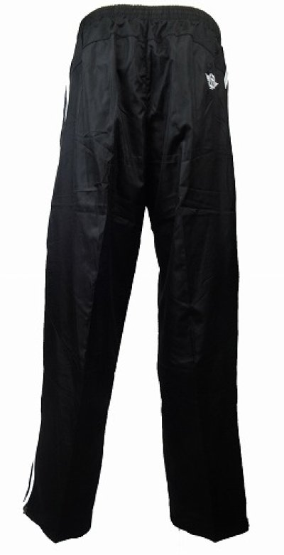 Photo2: TAPOUT PRO Nylon Pants Black