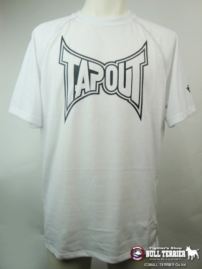 Photo1: TAPOUT PRO Sports Shirts VICTORY Short Sleeve White