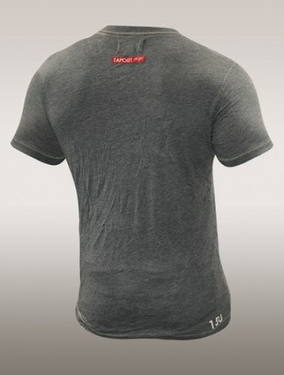 Photo2: TAPOUT Vintage Tshirts 150 V-NECK Grey