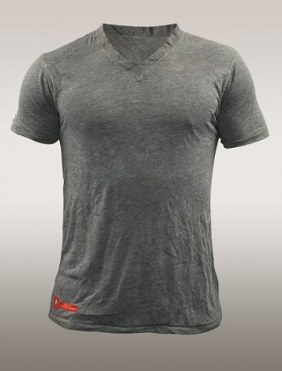 Photo1: TAPOUT Vintage Tshirts 150 V-NECK Grey