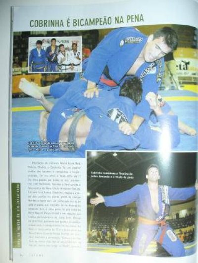 Photo4: Brazil MMA Magazine TATAME #126