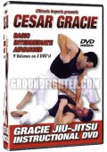 DVD CESAR GRACIE BASIC INTERMEDIATE 3 disc sets