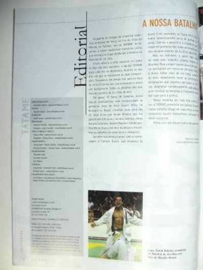 Photo2: Brazil MMA Magazine TATAME #126