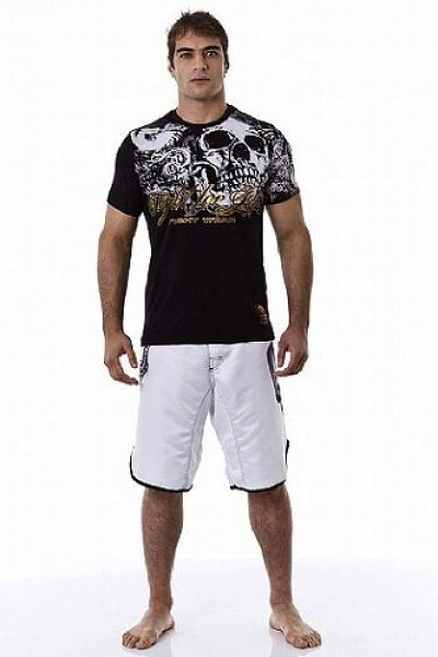 Photo2: DRAGAO T-shirt Fight for Life Black