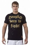DRAGAO T-shirt Born to Fight Black