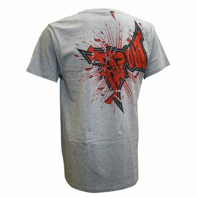 Photo2: TAPOUT T-shirt Shattered2.0 Grey