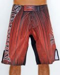 Vitamins&Minerals Fight shorts Cave Red