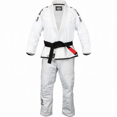 Photo1: Fuji Sports Jiu-jitsu Gi Sekai White