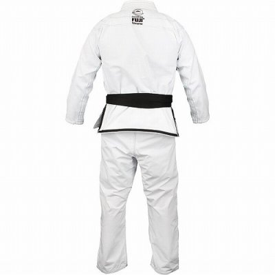 Photo2: Fuji Sports Jiu-jitsu Gi Sekai White