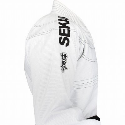 Photo3: Fuji Sports Jiu-jitsu Gi Sekai White