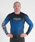 Grips RashGuard HONEY COMB Long sleeve Blue
