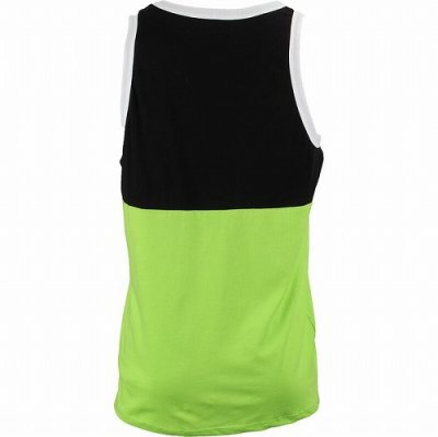 Photo2: Muscle Pharm Tank Top Stacked  Black/Green