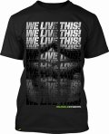 Muscle Pharm T-shirt Muscle Black