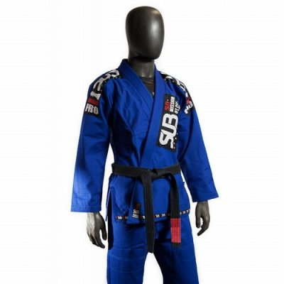 Photo3: SUB APPAREL Jiu Jitsu Gis PRO Blue