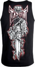 TAPOUT tank top Dagger Black