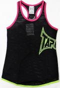 TAPOUT Ladies mesh tank top Star Pink