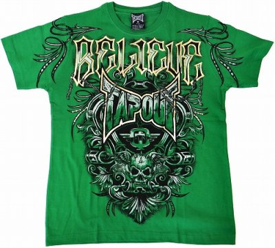 Photo2: TAPOUT Tshirts Agent Shield Green
