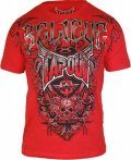TAPOUT Tshirts Agent Shield Red