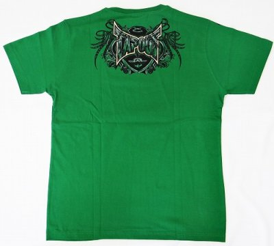 Photo3: TAPOUT Tshirts Agent Shield Green