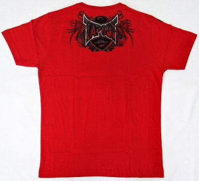 Photo3: TAPOUT Tshirts Agent Shield Red