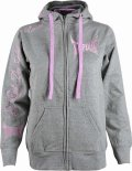 TAPOUT Ladies Hoodie Fierce Grey