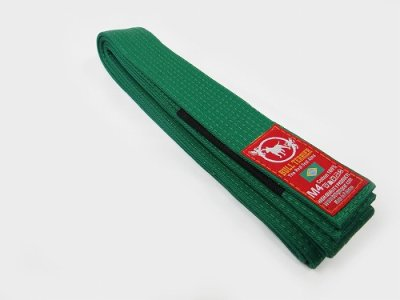 Photo2: BULLTERRIER  Jiu Jitsu Belt  Green