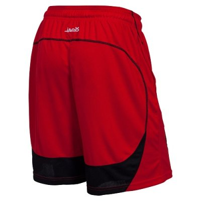 Photo2: JACO Training Shorts Twisted Mock Mesh  Red/Black