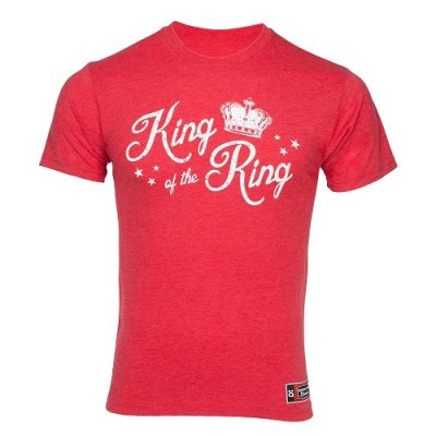 Photo1: Jaco T-shirt TCC - King of the Ring (Red)