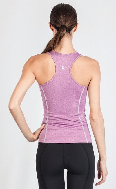 Photo2: Grips Ladies Tank Top Purple
