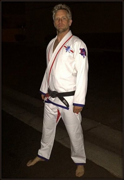Photo2: LUCKY GI Jiu Jitsu Gis  Dog Fighter White