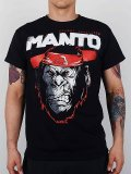 MANTO Tshirts JUNGLE Black