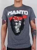 MANTO Tshirts JUNGLE Grey