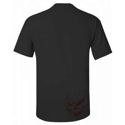 Photo2: TAPOUT Tshirts Berzerker Black/Red