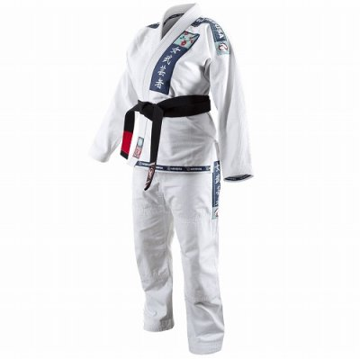 Photo1: Hayabusa Jiu Jitsu Gis Shinju Female White