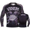VENUM Rashguard Black Eagle FEDOR Long Sleeve Black