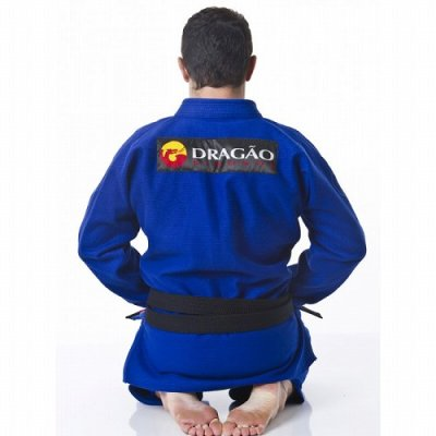 Photo3: DRAGAO Jiu Jitsu Gis Arm Lock 2015 Blue