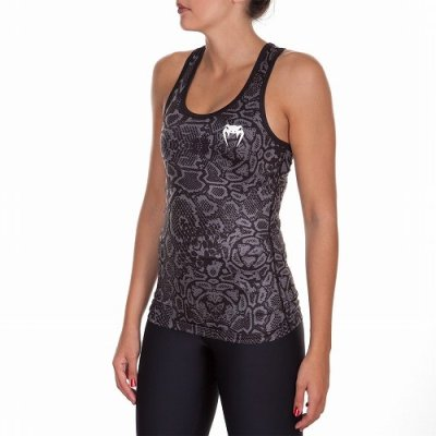 Photo2: VENUM Lady's Tank Top Fusion Black