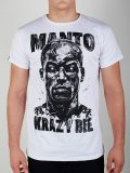 MANTO T-shirt MANTO×KRAZY BEE White