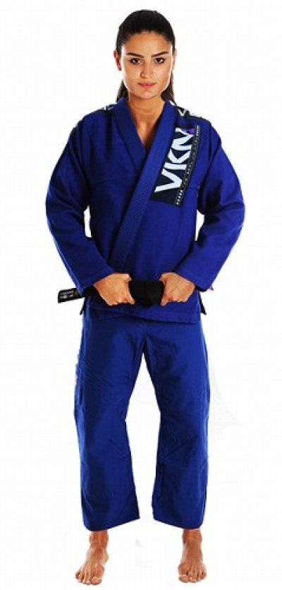 Photo1: VULKAN Jiu Jitsu Gi VKN PRO Female Blue