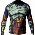 Jitsu Ras guard Camo soldier long-sleeved  Black