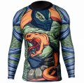 Jitsu Rashguard Graptile long-sleeved Black