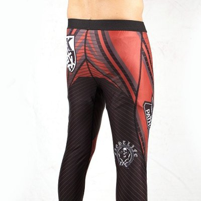Photo4: Contract Killer Imperial Spats Black/Red