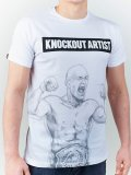 MANTO T-shirt KNOCKOUT White