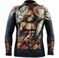 HCT Rash guard Sparta long-sleeved  Black