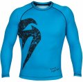 VENUM Rashguard Original Giant Long Sleeve  Ocean/Black