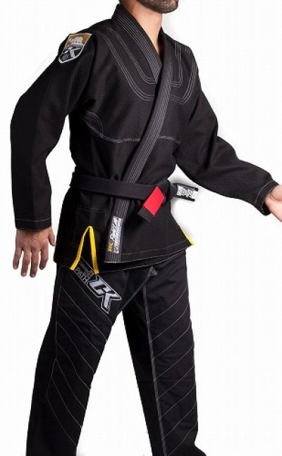 Photo4: Contract Killer Jiu jitsu Gi FRESHMAN Black