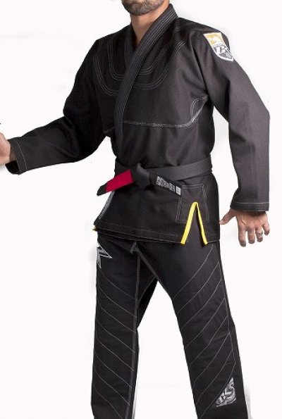 Photo3: Contract Killer Jiu jitsu Gi FRESHMAN Black